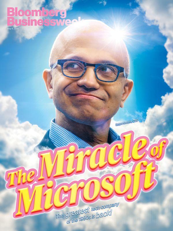 """深度 挺过创新困境:微软正经历""""纳德拉复兴"""""""