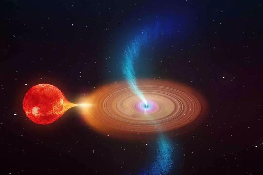 科学家首次拍摄到黑洞摇摆的喷流 距离地球8000光年