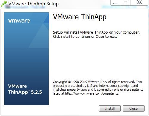 打包exe为msi文件工具VMware Thinapp破解版下载VMware Thinapp Enterprise破解版下载 v5.25(附注册码)