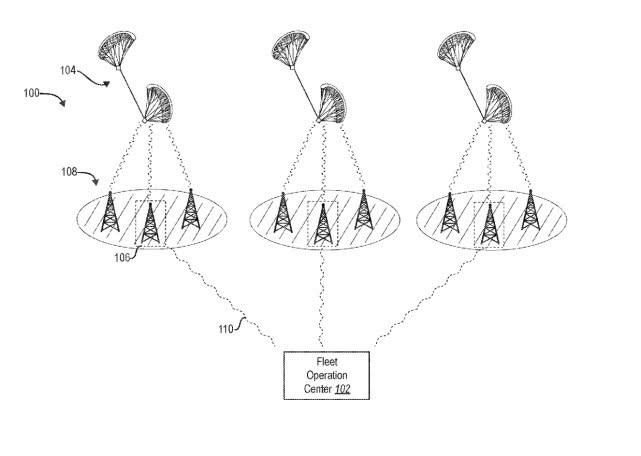 文件显示Facebook申请风筝无人机专利