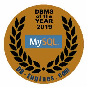 "DB-Engines 2019:MySQL 获得""年度数据库""称号"