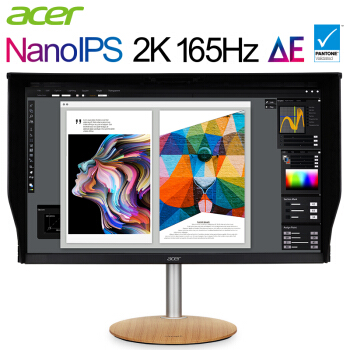 宏碁上架新款27英寸显示器:2K Nano IPS屏,165Hz刷新率