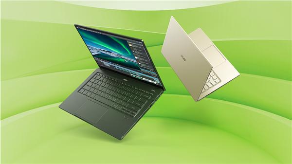宏碁发布全新Swift 5蜂鸟轻薄本:首发Intel 11代酷睿