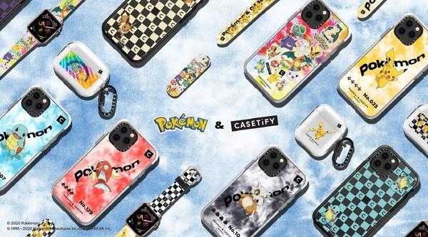 又要换新壳啦!Casetify推出宝可梦系列iPhone配件