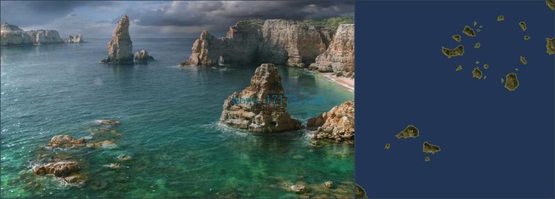 战舰世界新版本地图 大西洋和碎钻群岛解析