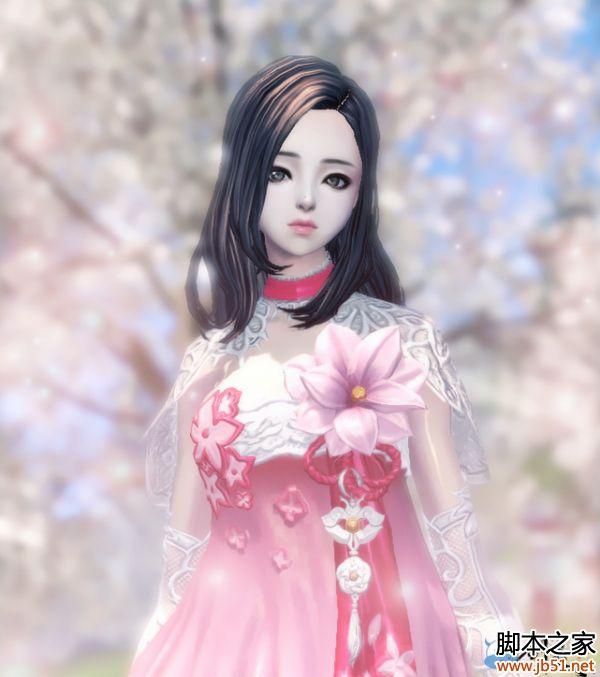 剑灵粉色系金兰香时装预览