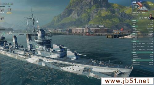 战舰世界本森 美系8级驱逐舰本森攻略
