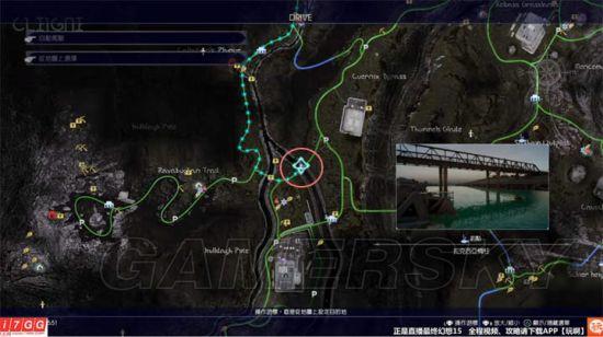 最终幻想15(FF15)钓鱼地点图文详解