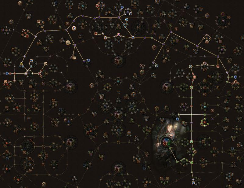 流放之路3.2游侠追猎者羽毛笔灵体火球BD介绍 强力攻坚BD攻略