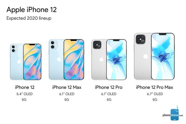 iPhone 12真机谍照曝光:小刘海希望基本破灭