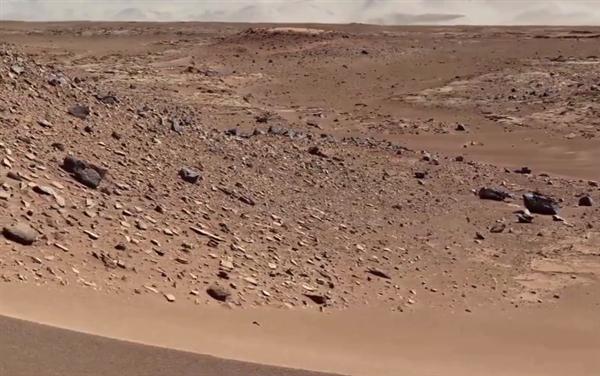 火星表面照片被制成4K视频:犹如身临其境