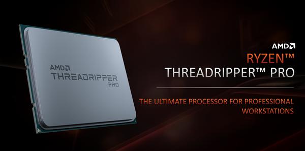 AMD正式发布线程撕裂者PRO:一颗64核心秒杀两颗28核心