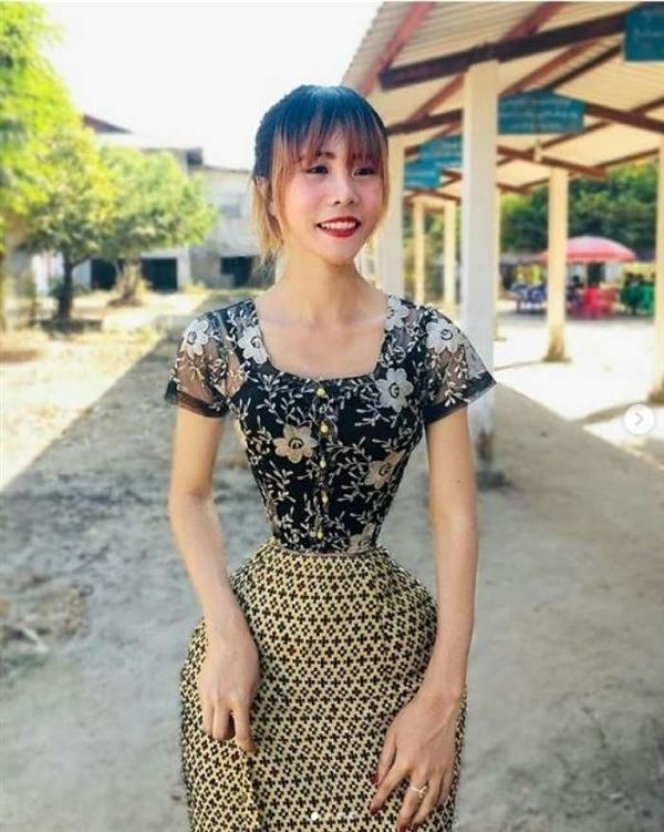 缅甸女孩成全球腰最细的人 曾被网友质疑是P图
