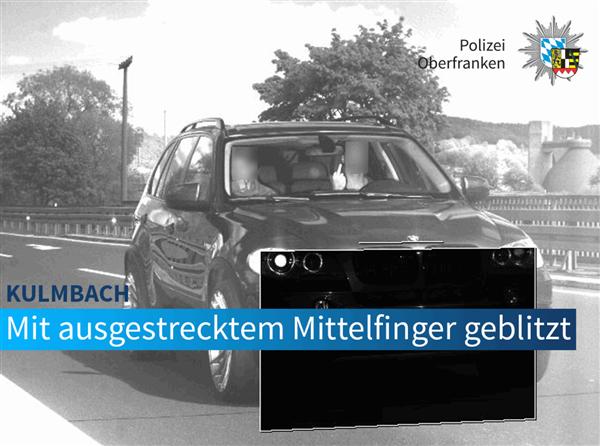 超速原本只罚20欧元 国外一驾驶员挑衅摄像头!结果被加罚1.2万元