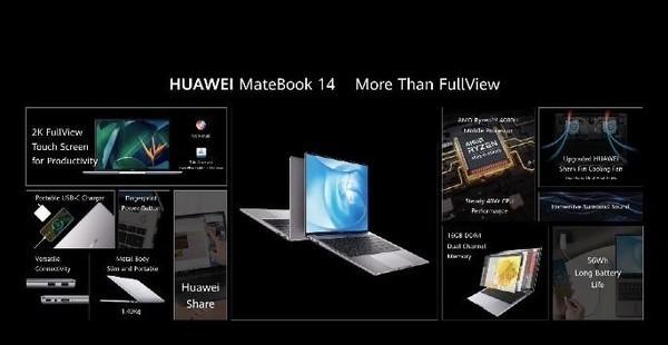 华为MateBook X发布:重量仅为1kg 售价1599欧元起