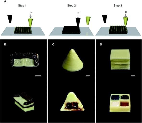 """这种小小的可食用沙发是用牛奶""""墨水""""3D打印而成"""