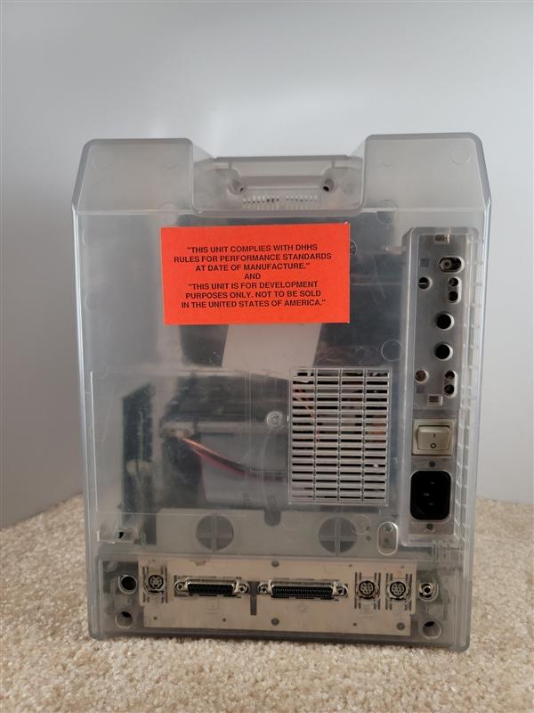 全透明造型:苹果首款台式机现身 被称为无价之宝