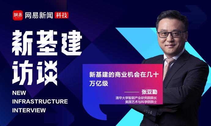 对话张亚勤院士:新基建的商业机会在几十万亿级