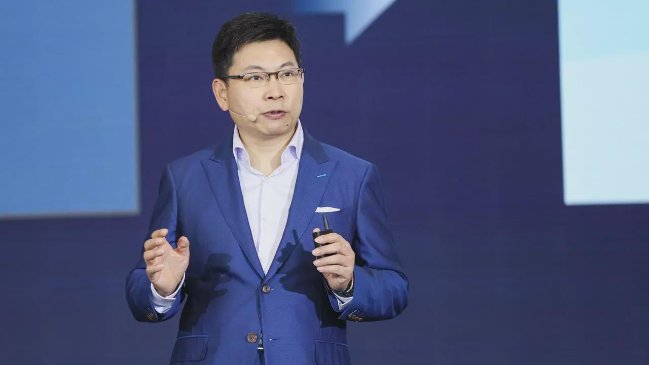 余承东首次华为云CEO身份亮相:发布六大创新技术