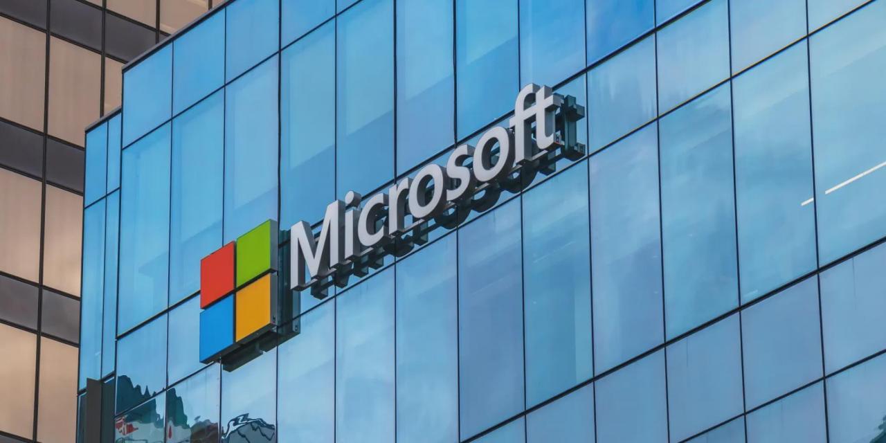 微软第三财季营收417亿美元同比增19% 净利155亿