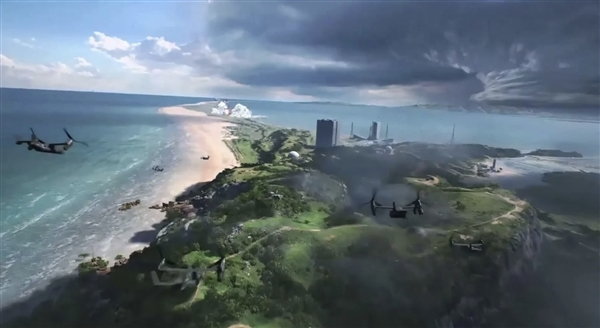 《战地6》截图泄露 新地图竟有火箭发射塔