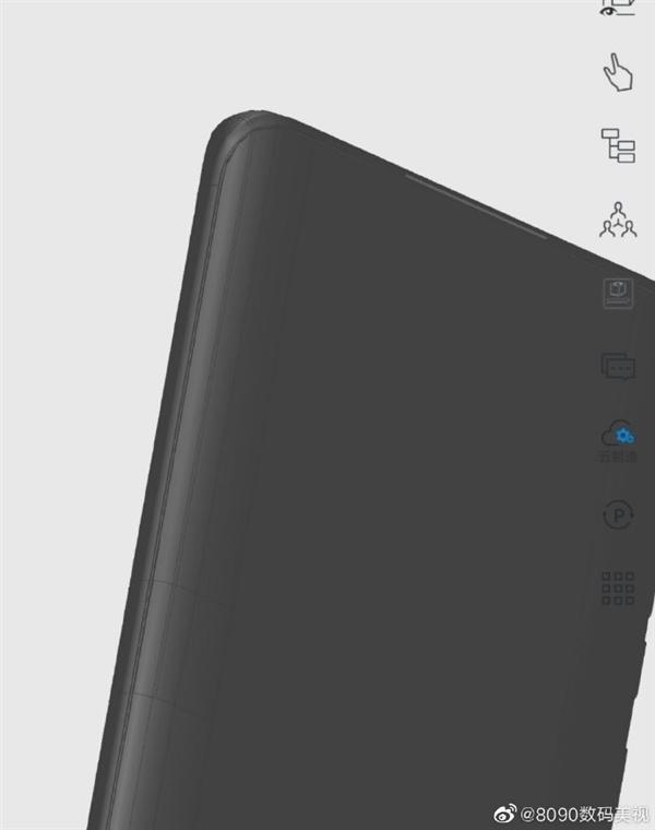 首发预装鸿蒙系统!华为P50 Pro 3D模型曝光:双曲面屏稳了