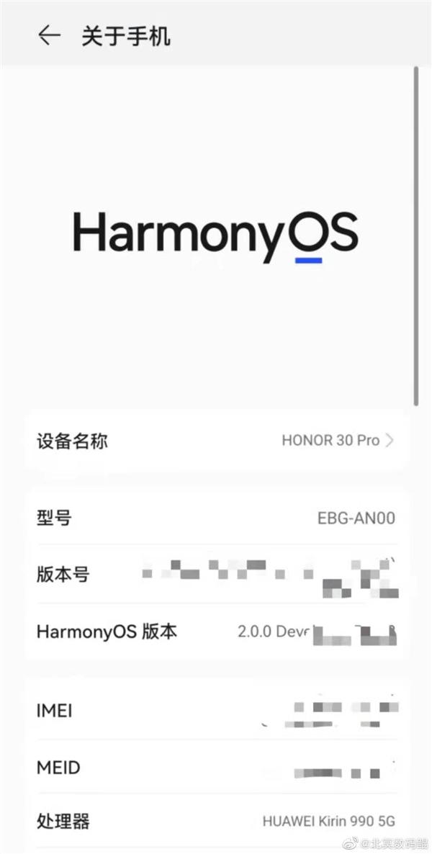 荣耀手机确认可升级鸿蒙OS!已在内测 绝无阉割
