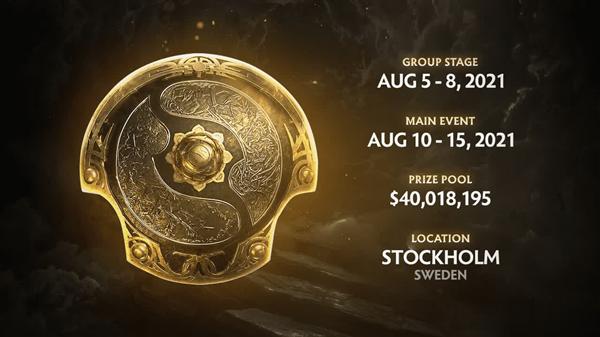 奖金高达2.5亿!《Dota2》第十届国际邀请赛回归:8月见