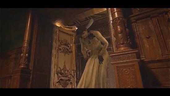 《生化8》夫人吃手手自由视角 多角度照亮贵妇的美