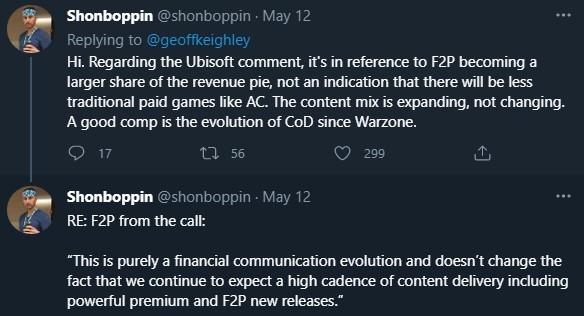 育碧否认削减单机游戏预算