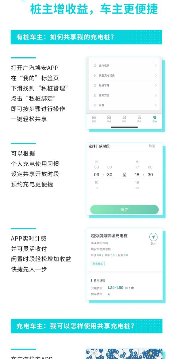 """解决""""电动爹""""充电难顽疾 广汽埃安发布全球首个私桩共享充电平台"""