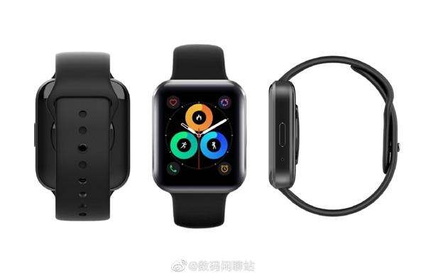神似Apple Watch!魅族手表渲染图曝光:方形表盘、弧面屏幕