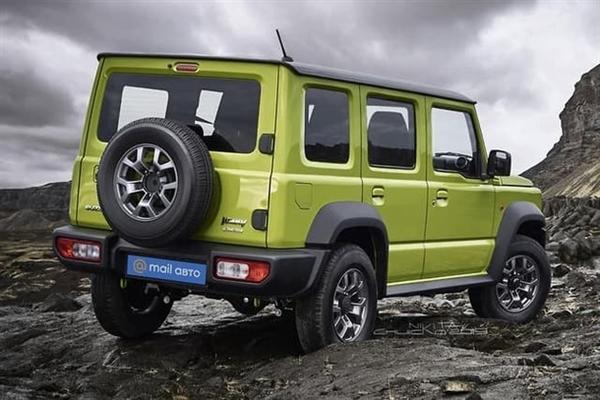 全球最小硬派SUV!五门版铃木吉姆尼曝光 更像奔驰G了