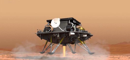 天问一号火星车发布首条微博 网友调侃:这是假的 它没有用火星文