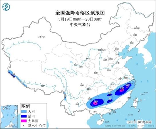 8省区部分地区有大到暴雨:暴雨雷电大风齐现身