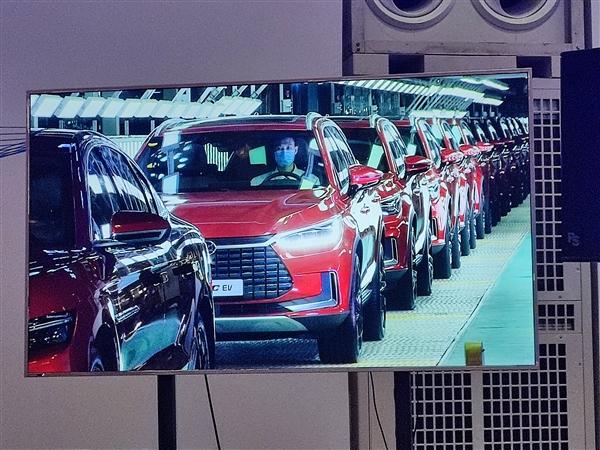 比亚迪第100万辆新能源汽车下线:何猷君喜提汉EV