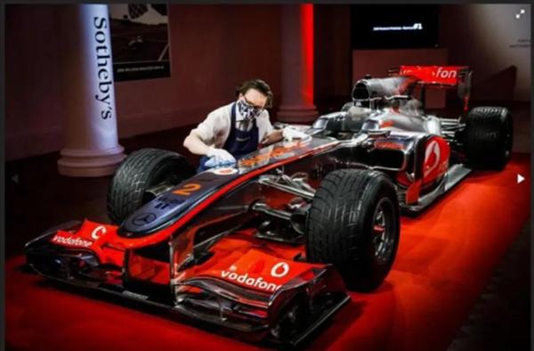 七届F1世界冠军座驾拍卖!网友:能买5套北京学区房