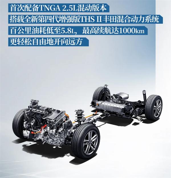 一箱油能跑1000km!全新丰田汉兰达预售28万起