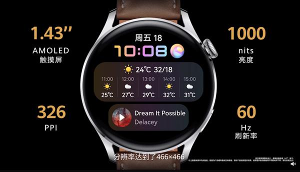 四年磨一剑!华为Watch 3发布:HarmonyOS 2加持 强大如手机