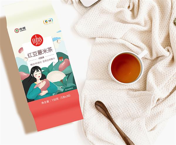 八种食材配方:中粮红豆薏米茶30包9.9元