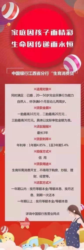 """中国银行推出""""三胎贷""""!官方回应:已下架"""