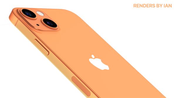 不止小刘海!iPhone 13最终渲染图曝光:前所未有的配色方案