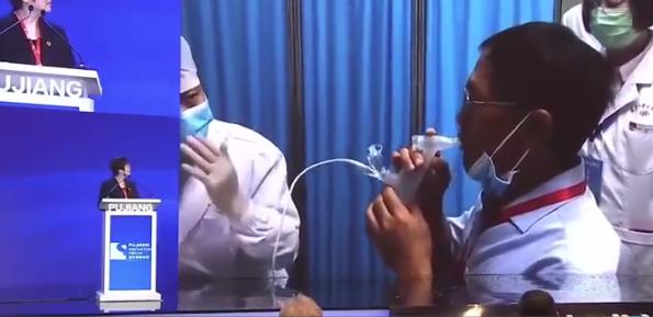 吸入式新冠疫苗正在申请紧急使用:不用打针只需吸一吸 已临床实验