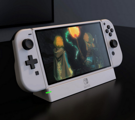 任天堂Switch Pro真机谍照曝光:告别大黑边、外形焕然一新