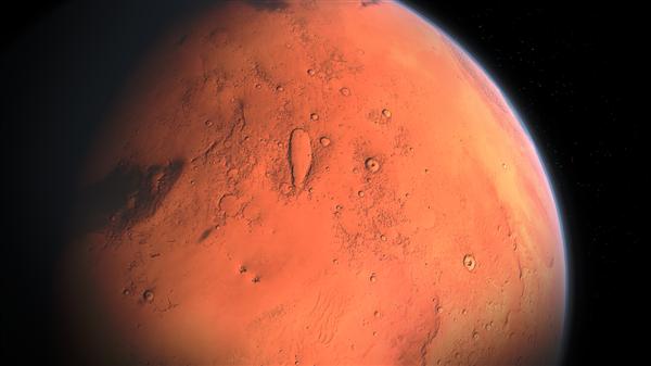 天问一号任务着陆区高分影像图公布:祝融号火星车清晰可见