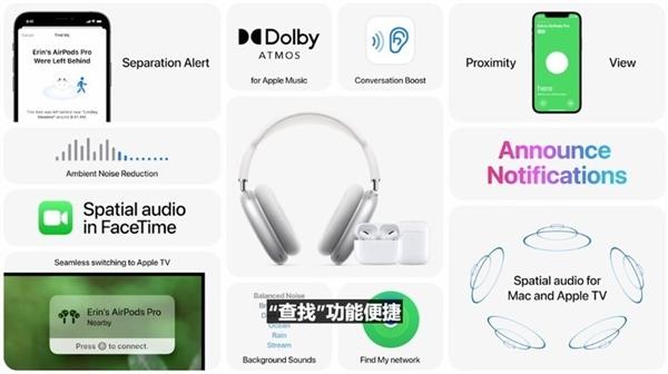 升级iOS 15后 苹果AirPods迎来一大波新功能