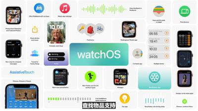 watchos8支持哪些设备