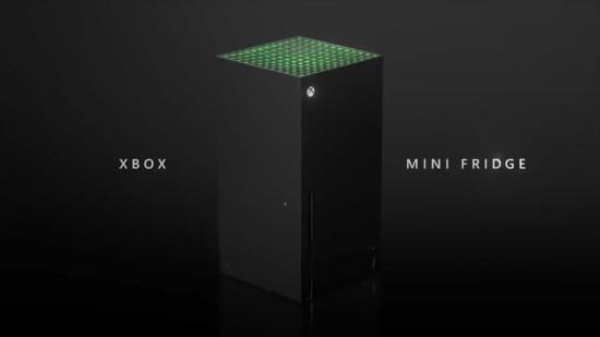 官方玩梗成真 微软确认Xbox冰箱假期发售:与XSX造型一致