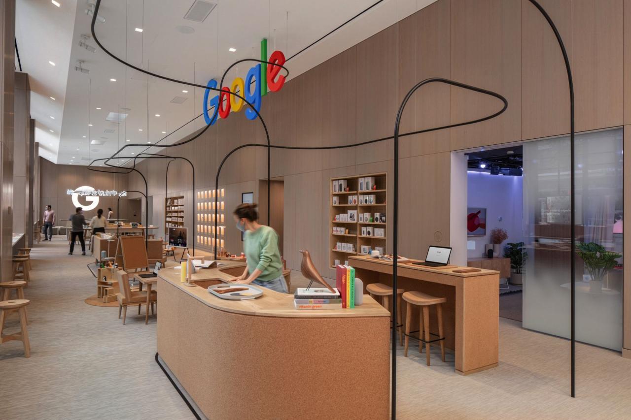 谷歌将在纽约开设首家零售店 周四向公众开放