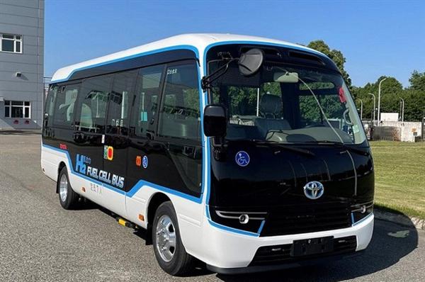 国产丰田柯斯达氢燃料电池车申报!比亚迪电池